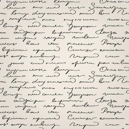 type writer: Modello senza soluzione di continuit? astratta testo scritto a mano  Vettoriali