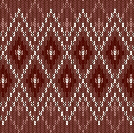 woolen: Seamless Pattern  Knit Woolen Trendy Ornament Texture  Fabric Color Tracery Background