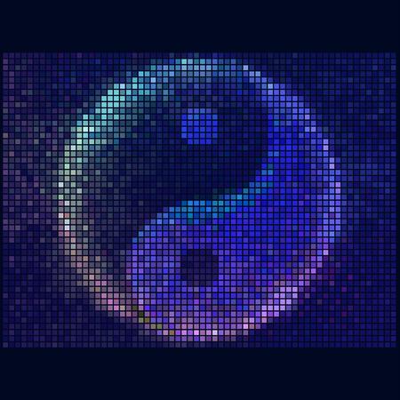 yin y yan: Yin yang símbolo de la armonía y el equilibrio
