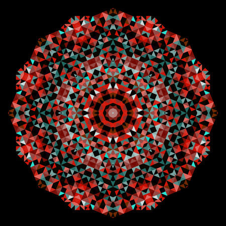 dominant color: Red Emerald Green Black Dominant Color