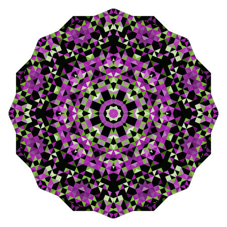 dominant color: Lilac Violet Green Pink White Black Dominant Color