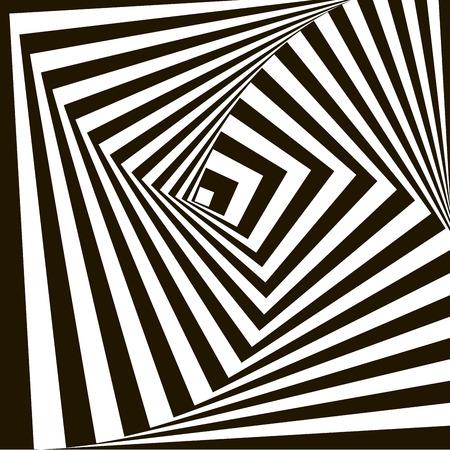 arte optico: Patrón geométrico del vector