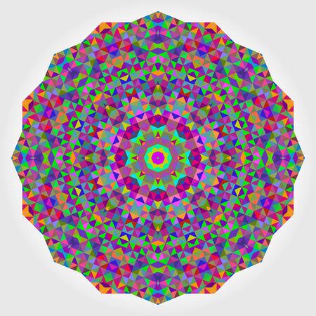 Abstract colorful circle backdrop.  Vector