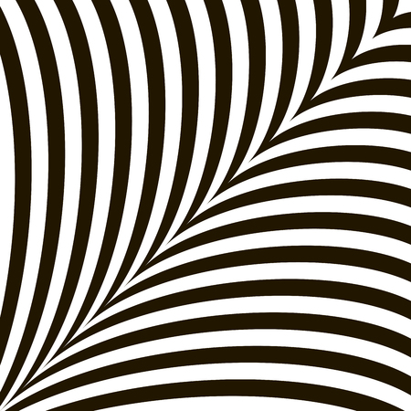 flickering: Black and White Geometric Shimmering Optical Illusion. Modern Flickering Effect. Op Art Design