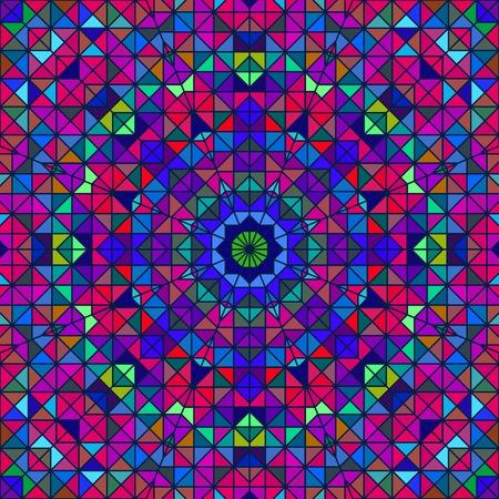 pink green: Flor colorida abstracta digital decorativo. Contraste geom�trica L�nea Star y Blue Pink color verde tel�n de fondo