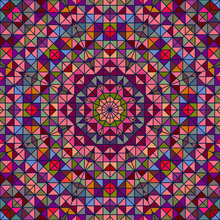 tapis: Abstract Colorful Digital Decorative Flower Star. Geometric Contrast Line Trendy Banner. Blue Green Orange Red Cyan Holiday Backdrop