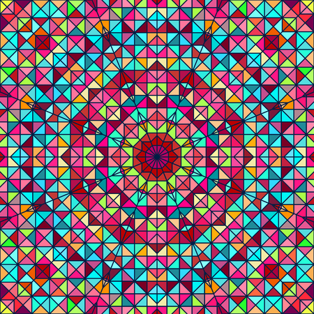 Abstract ColoAbstract Colorful Digital Decorative Flower. Geometric Contrast Line Star and Blue Pink Red Cyan Color Artistic Backdrop rful Digital Decorative Flower. Geometric Contrast Line Star and Blue Pink Red Cyan Color Artistic Backdrop Vetores