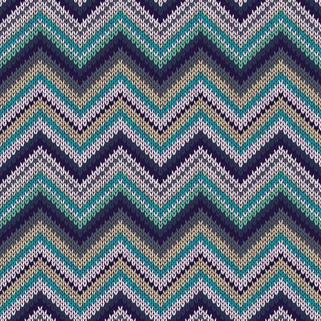 knitwear: Seamless geometric spokes knitted pattern. Blue white beige green color knitwear sample