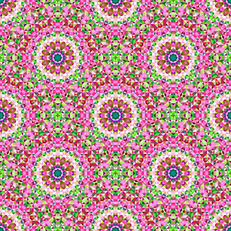 Ornamental Seamless Pattern. Abstract Geometrical Vector Background Illustration