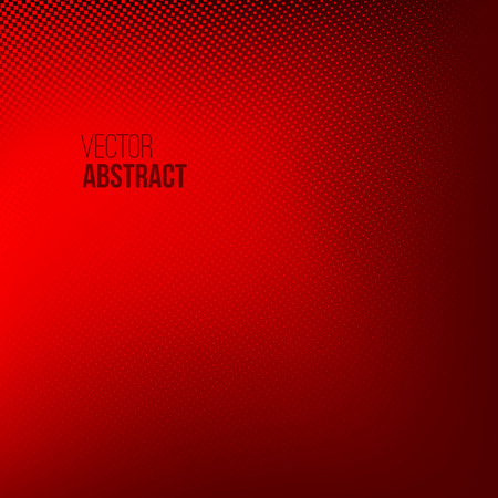 abstract red: Abstract Halftone Background, dotted vector illustration. Business presentation concept