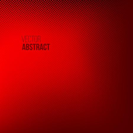 luz roja: Resumen de antecedentes de medios tonos, ilustraci�n vectorial de puntos. Concepto Presentaci�n del asunto