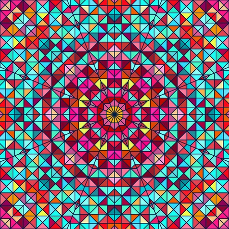 tucker: Abstract Colorful Digital Decorative Flower Star