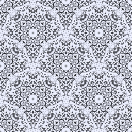 white color: Geometric Pattern. Abstract Seamless Black and White Color Background