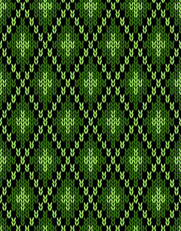 knitwear: Seamless knitwear pattern