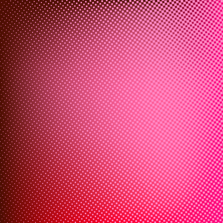 rasterized: Halftone red background. Creative vector illustration Illustration