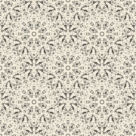 abstract pattern: Ornamental Seamless Pattern. Abstract Geometrical Vector Background Illustration