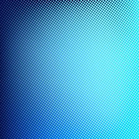transcendental: Blue abstract halftone background. Creative vector illustration