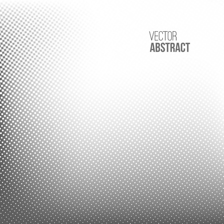 rasterized: Abstract spotted halftone background. Vector illustration for business presentation Illustration