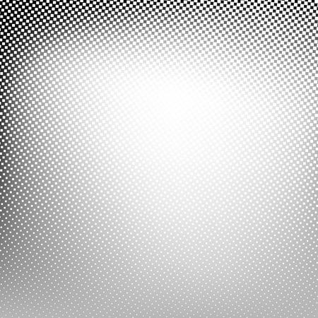 transcendental: Abstract spotted halftone background. Vector black white gray color illustration for business presentation Illustration