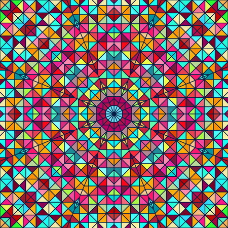 Abstract ColoAbstract Colorful Digital Decorative Flower. Geometric Contrast Line Star and Blue Pink Red Cyan Color Artistic Backdrop rful Digital Decorative Flower. Geometric Contrast Line Star and Blue Pink Red Cyan Color Artistic Backdrop Vector