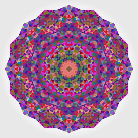 violet red: Abstract Flower. Creative Colorful Style Wheel Colorful Circle Geometric Backdrop. Red Green Orange Purple Lilac Violet Blue Violet Magenta White Color Round Background