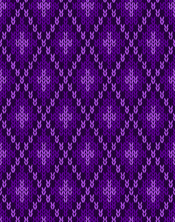 sample: Seamless Knitwear Textile Pattern