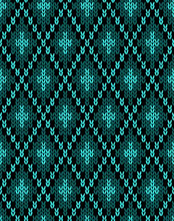 virid: Textile Pattern. Seamless Knitwear
