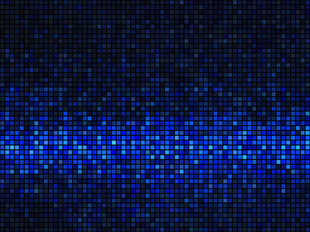 Abstract Seamless Background. Blue and Black Color