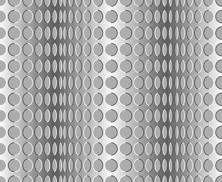 delusion: Seamless wavy pattern. Optical illusion with motion background