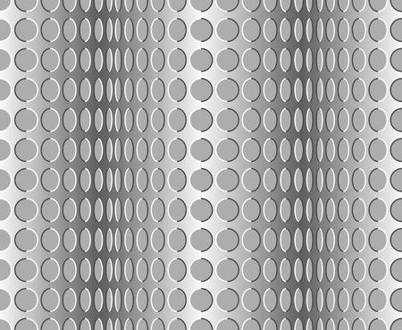 phantasy: Seamless wavy pattern. Optical illusion with motion background