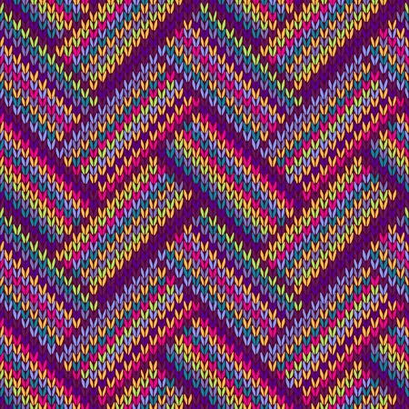 blue and green: Knitted Seamless Red Blue Pink Yellow Violet Orange Green Ornamental Striped Pattern