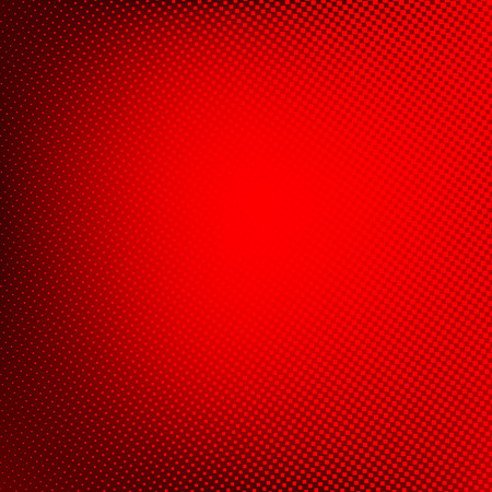 abstract vector: Halftone background. Red abstract spotted pattern. Vector illustration for business presentation