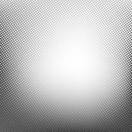 Abstract spotted halftone background. Vector illustration for business presentation Stock Photo