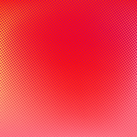 Halftone background. Red blue violet orange creative illustration