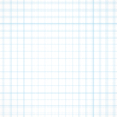 grid paper: Graph seamless millimeter grid paper. engineering light blue and white color background