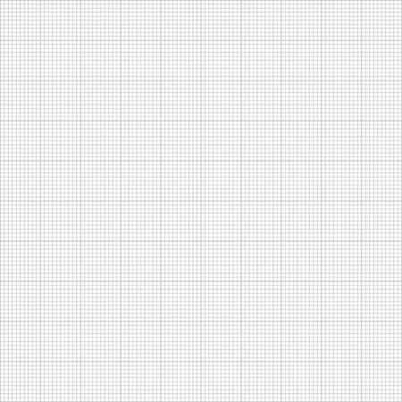 Graph seamless millimeter grid paper Vettoriali