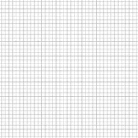Graph seamless millimeter grid paper Stock Illustratie