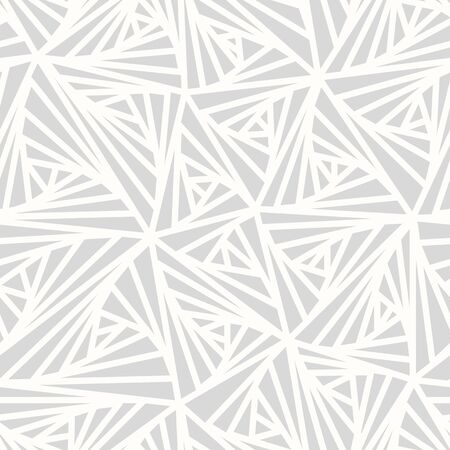 grey line: Abstract Geometric Light Pattern. Modern seamless white and grey color sample pattern. Light line abstract background
