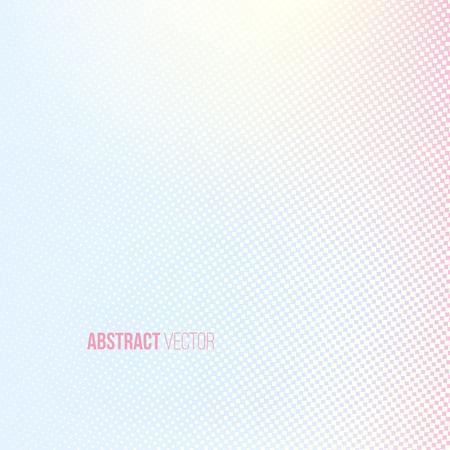 Halbton-Hintergrund. Hellgelb, blau, rosa lila weiß und gelb, quadratische Form Banner