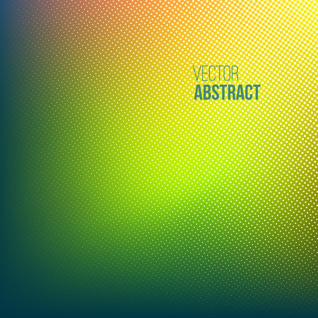 yellow green: Halftone background. Green yellow orange abstract spotted pattern. Vector illustration for business presentation Illustration