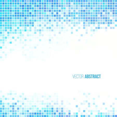 blue light: Abstract light blue and white geometric background