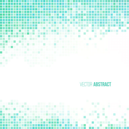 Abstract light blue green and white geometric background