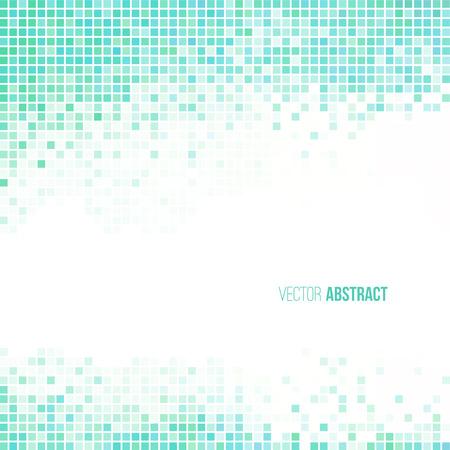 Résumé bleu clair et blanc géométrique fond