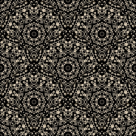 dismal: Seamless Pattern. Abstract Ornamental Geometrical Vector Background Illustration