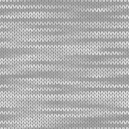 Fabric seamless texture. Melange light gray color background. Vector illustration