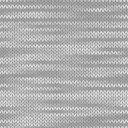 Fabric seamless texture. Melange light gray color background. Vector illustration