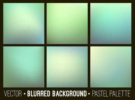 blur: Vector abstract blurred background. Web site banners design. Interface template.