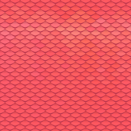 Abstract scale pattern. Roof tiles background. Illustration