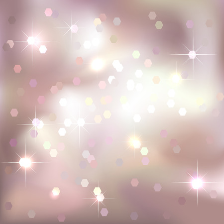 Bright light pink background. Festive design.