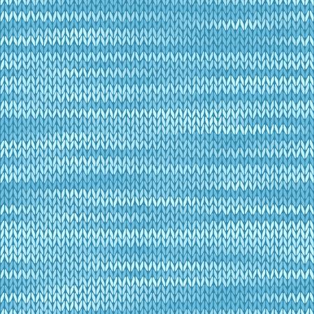 Textile fabric seamless texture. Melange light blue color background. Ilustração